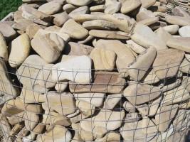 Камень ростовский песчаник галька цветная по разумной цене в Ростове на Дону.