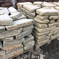 Камень галтованный Толстяк серо-зеленый песчаник
