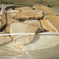 Песчаник цветной ростовский природный