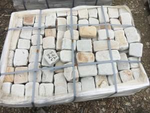 камень ростовский природный обработанный брусчатка галтованная
