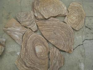 Натуральный камень природный Песчаник Шкура тигра
