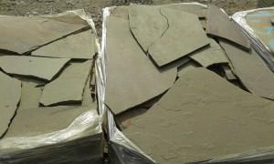 Ростовский камень серо-зеленый песчаник купить дешево у ИП Шеверев А.С.