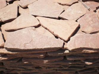 Камень самый надёжный, крепкий и не слоёный - галтованный