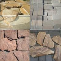 Камень натуральный песчаник природный