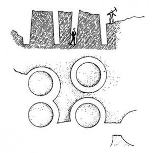 Как вели камнеобработку в древности