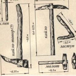 Инструмент для добычи камня